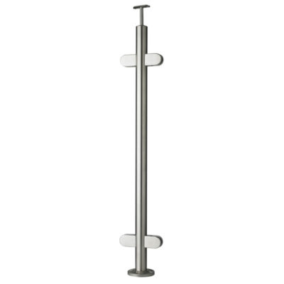 Top Mounted Through Post for Glass